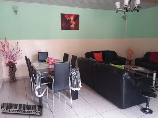 Appartement f3 meubl 2 chambres douala bonapriso 35 for Appartement meuble douala