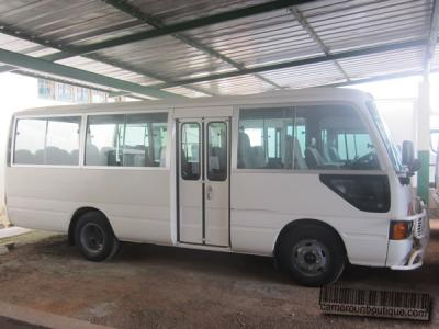 Location Minibus Toyota Coaster 30 places à Yaoundé