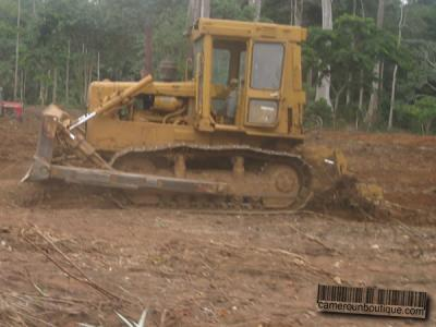 Location Engin Bulldozer Caterpillar à Yaoundé