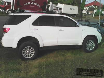 Location Toyota Fortuner à Douala