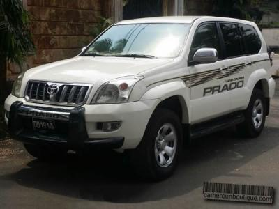 Location Toyota Land Cruiser Prado GX à Douala