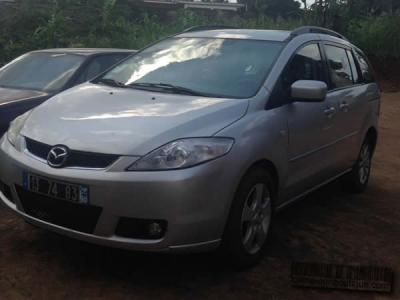 Location Voiture Mazda 5 Full Options a Yaoundé