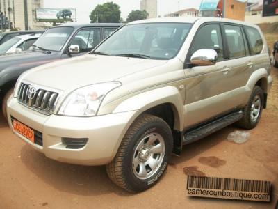 Location Voiture Toyota Prado GX à Yaoundé