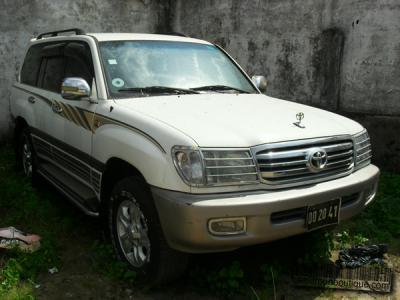 Location Voiture Toyota Land Cruiser GXR à Douala