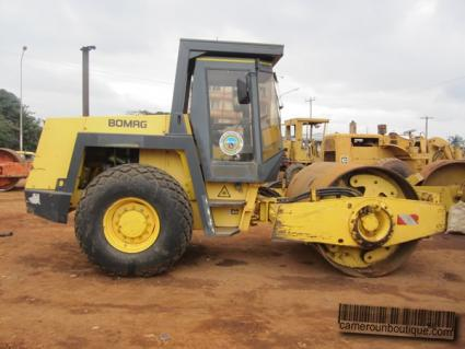 Location Engin Compacteur Bomag à Yaoundé