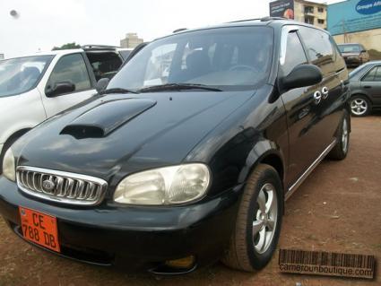 Location Voiture Kia Carnival Park 4X4 à Yaoundé