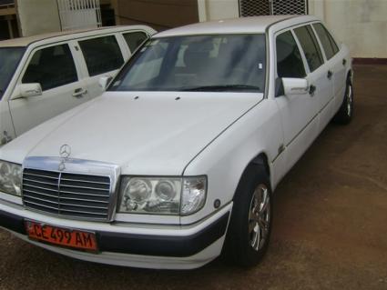Location Limousine Mercedes à Yaoundé