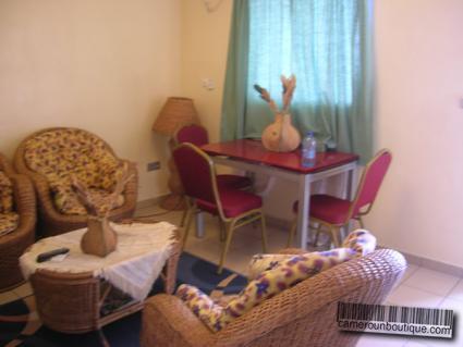 Appartement meublé climatisé Douala Akwa Garanti F3