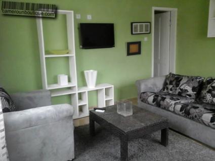 Studio meublé climatisé Douala Akwa Nord F2