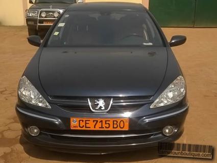 Location Voiture Luxe Peugeot 607 à Yaoundé
