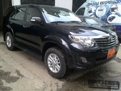 Location Toyota Fortuner 8 Places à Douala