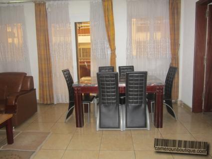 Appartement meublé F4 à louer à Douala Akwa Wouri