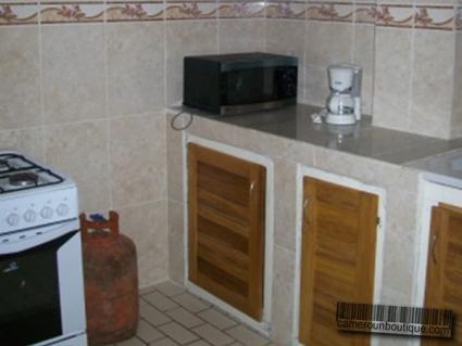 Cuisine Studio meublé Douala Akwa