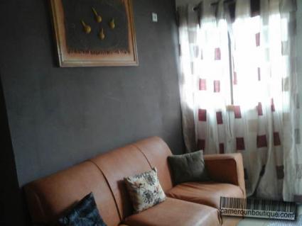 Studio meublé cuir Douala Akwa Nord F2