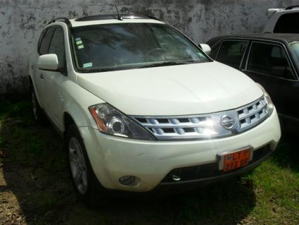 Location Voiture Nissan Murano SL AWD à Douala
