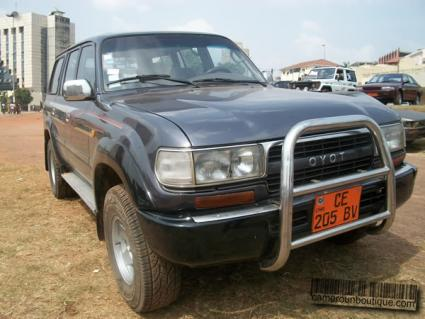 Location Voiture Toyota Land Cruiser GX