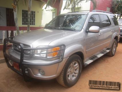 Location Voiture Toyota Sequoia iforce 4WD à Yaoundé