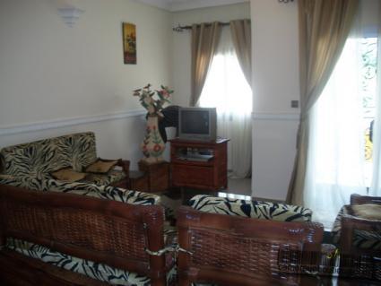 Salon Appartement meublé Yaoundé Mvan
