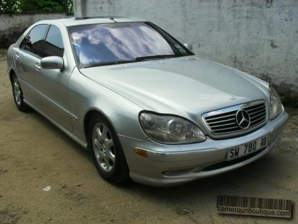 Location voiture Mercedes Benz S55 AMG à Douala